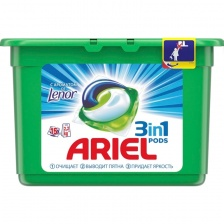 Средство д/стирки ARIEL Touch of Lenor Fresh, капсулы, 15шт (СМ)